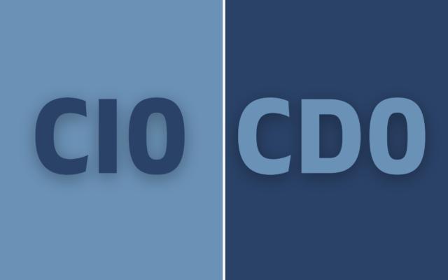 CIO-CDO? Yeah, Nah.